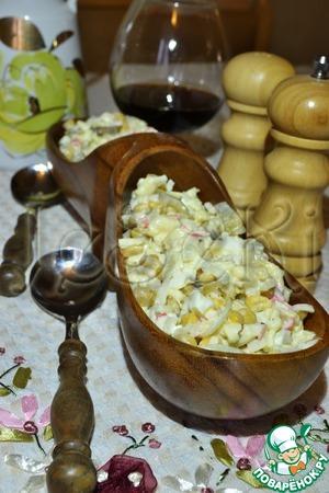 "Рецепт Салат ""Банановый"""