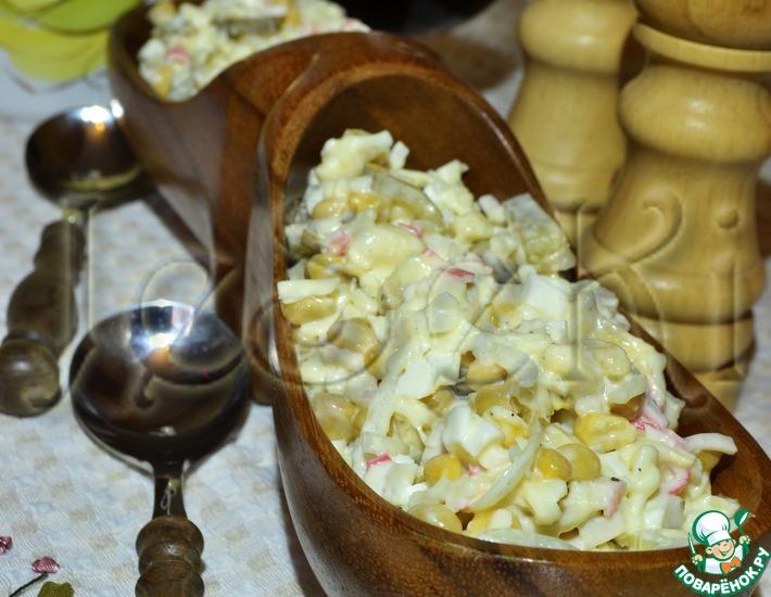 Рецепт: Салат Банановый