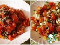 Жареная тилапия с овощной сальсой ингредиенты