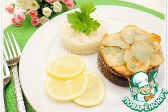 Рецепт: Медальоны из лосося с рисом на гарнир