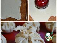 Пирожки из пьяных слив с клюквенным марципаном ингредиенты