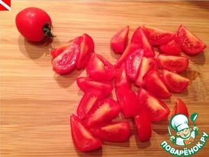 Режем помидоры,