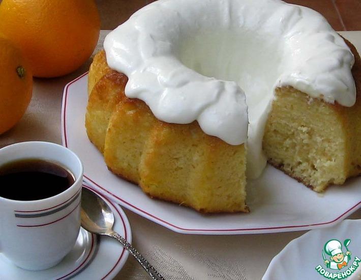Рецепт: Баба апельсиновая