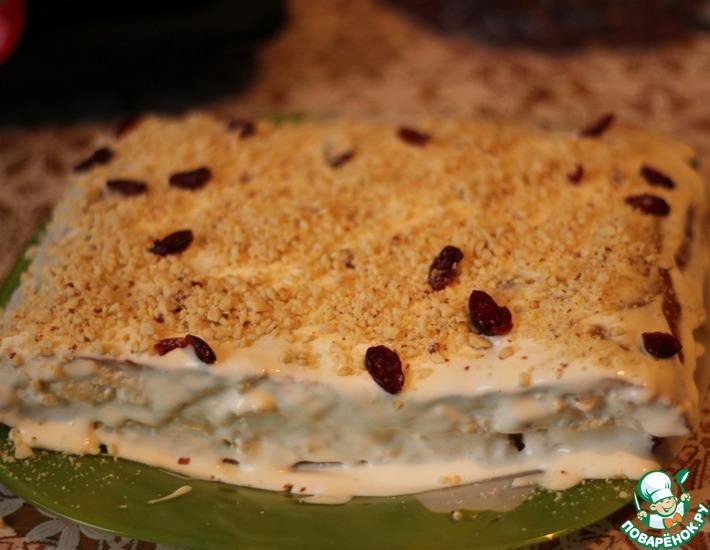 Рецепт: Торт От Дашеньки