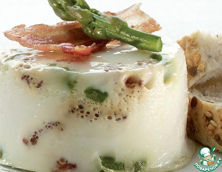 ОВО с беконом и зеленой спаржей – кулинарный рецепт
