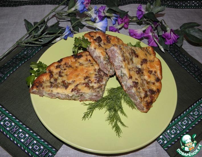 Рецепт: Мясной пирог Моментальный