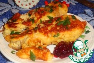 Рецепт: Розмариновые куриные ножки в топленом кляре с клюквенным соусом D'arbo