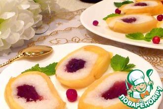 Рецепт: Десерт ананасовый Райское наслаждение