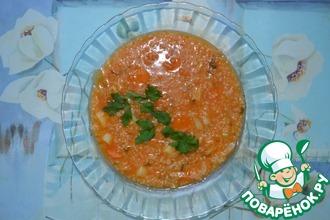 Рецепт: Североафриканский ячменный суп