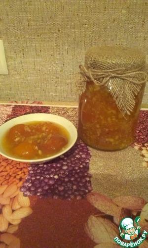Рецепт Абрикосовое варенье с апельсинами