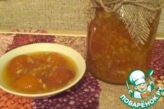 Рецепт: Абрикосовое варенье с апельсинами