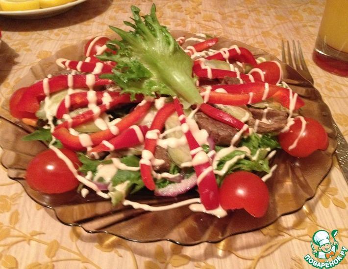 Рецепт: Салат Черутте