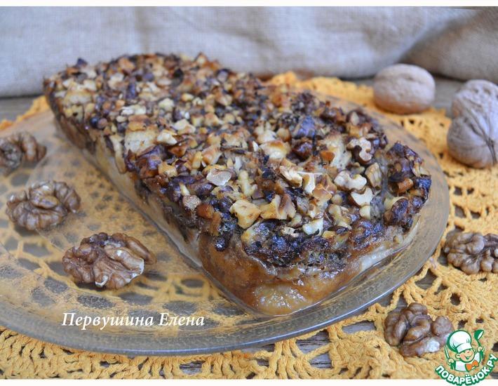 Рецепт: Ореховый пудинг