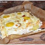 Картофельная запеканка с яйцами Буланжер