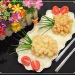 Рыбные ананасы из трески с рисом