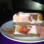 Легкий йогуртный тортик Битое стекло