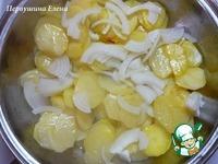 Картофельная запеканка с яйцами Буланжер ингредиенты