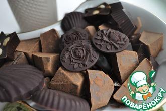 Рецепт: Настоящие шоколадные конфеты