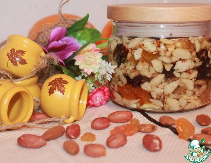 Рецепт: Восточная сладость Орехи в меду