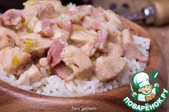 Рецепт: Курица по-фламандски