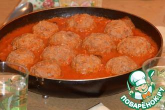Рецепт: Тефтели в томатном соусе