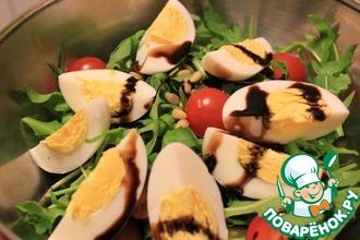 Рецепт: Салат с тунцом и зеленью