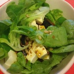 Легкий салат с инжиром