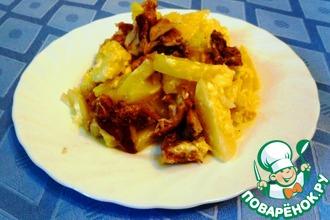 Рецепт: Курица с картофелем в мультиварке