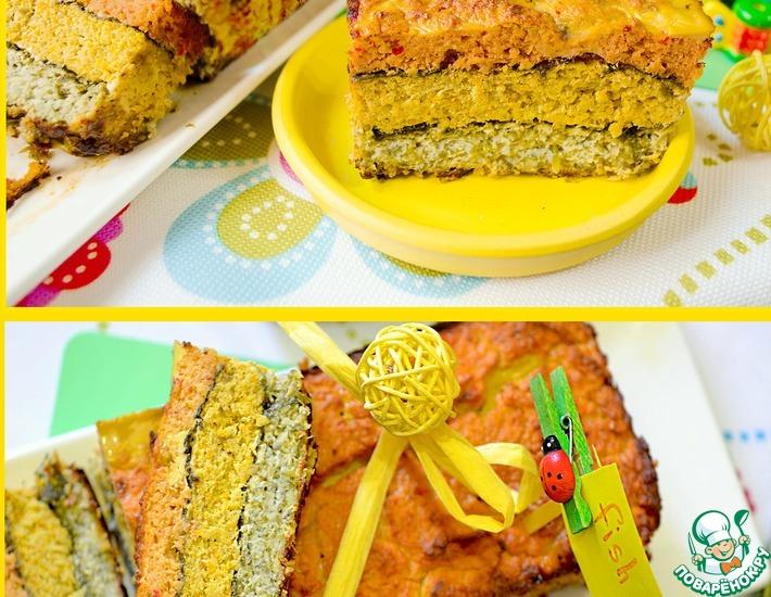Рецепт: Рыбный хлеб Фишлоаф