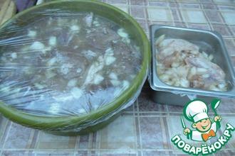 Рецепт: Маринад для шашлыка за 1 час