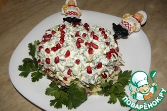 Рецепт: Салат с бараниной