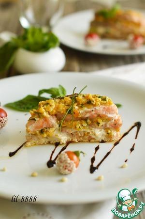 """Рыба """"Милефолле"""" – кулинарный рецепт"""
