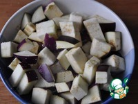 Горбуша с баклажанами по-китайски ингредиенты