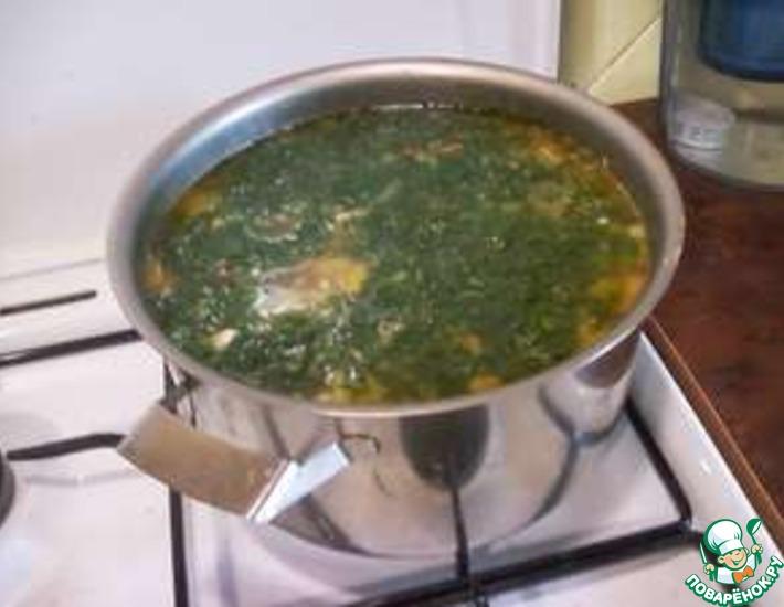 Рецепт: Куриный суп с кабачками