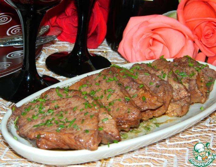 Рецепт: Свинина в сладком соусе