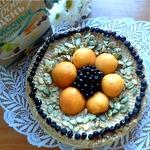 Творожно-рисовая запеканка в вафлях с вареной сгущенкой