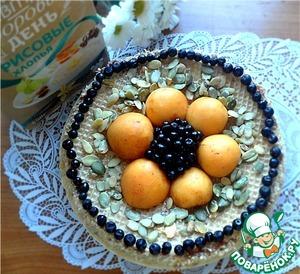 Рецепт Творожно-рисовая запеканка в вафлях с вареной сгущенкой