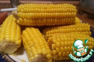 Рецепт: Выбор и приготовление сладкой кукурузы