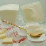 Творожный десерт с белым шоколадом