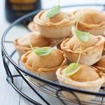 Мини-пироги с картофелем и беконом