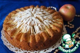 Рецепт: Корнуэльский яблочный пирог