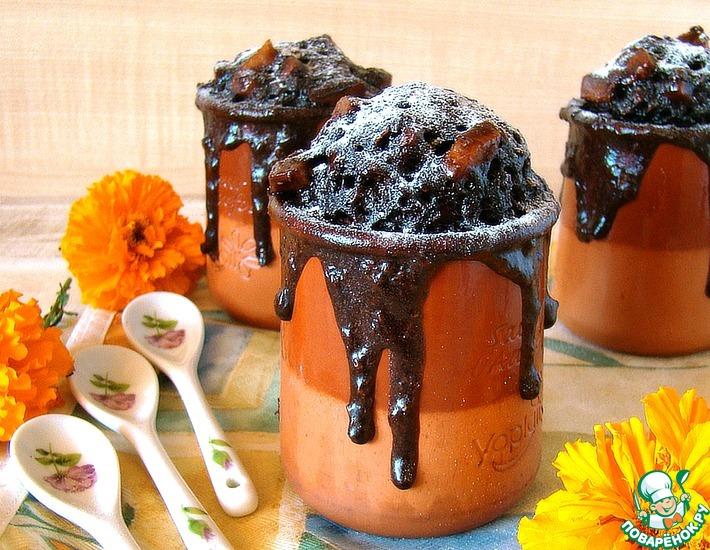 Рецепт: Быстрый бисквит к завтраку Вулкан страстей