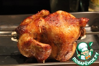 Рецепт: Курица гриль