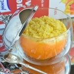 Каша пшенно-апельсиновая за 2 минуты