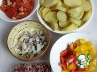 Картофельная сковорода по-испански ингредиенты