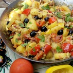 Картофельная сковорода по-испански