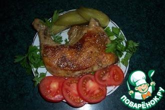 Рецепт: Цыплёнок табака (Тапака)