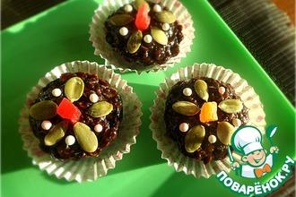 Рецепт: Шоколадно-геркулесовые конфеты