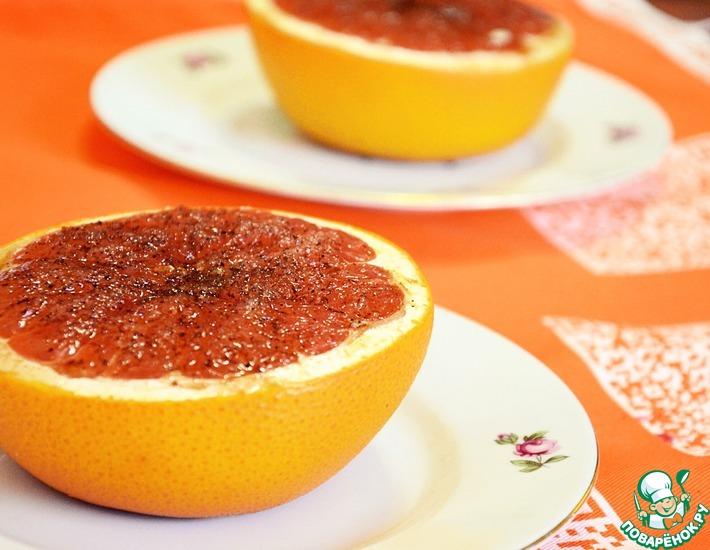 Рецепт: Запеченный грейпфрут