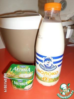 Йогурт из топленого молока – кулинарный рецепт